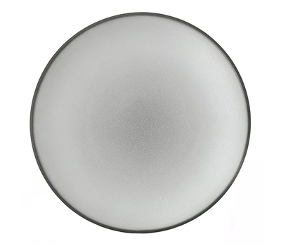 Закусочная тарелка Revol Equinoxe, серая, 24см, фото 1