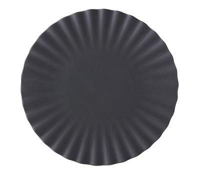 Десертная тарелка Revol Pekoe, черная, 17см, фото 1