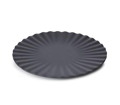 Десертная тарелка Revol Pekoe, черная, 17см, фото 2