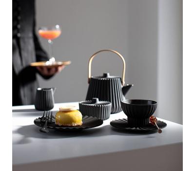 Десертная тарелка Revol Pekoe, черная, 17см, фото 3