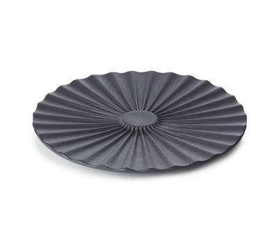Блюдце Revol Pekoe, черное, 14см, фото 3