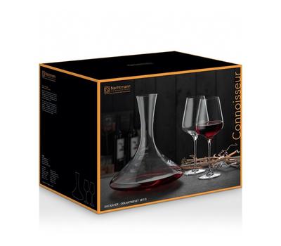 Набор для вина Nachtmann Vinova Connoisseur - 2 бокала и декантер, фото 2