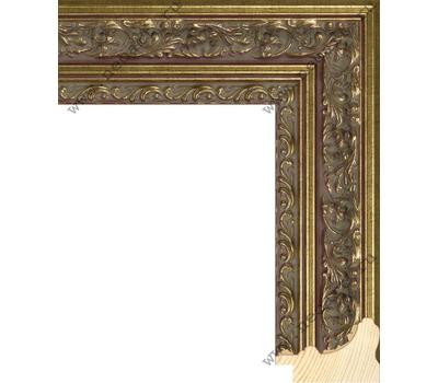 Деревянный багет NA058.2.129, ш: 5.2см в: 3.3см, фото 1