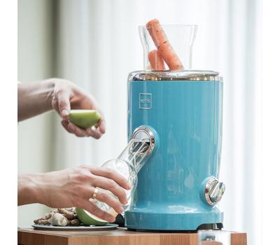 Соковыжималка для овощей и фруктов Novis Vita Juicer, синяя, фото 2
