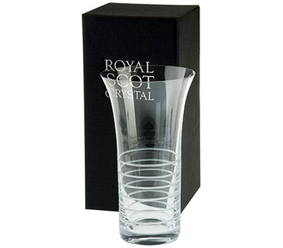 Ваза для цветов Elements Horizon Royal Scot Crystal, 26см, фото 1