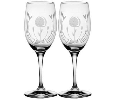 Бокалы для вина Mackintosh Rose Royal Scot Crystal - 2шт, фото 1