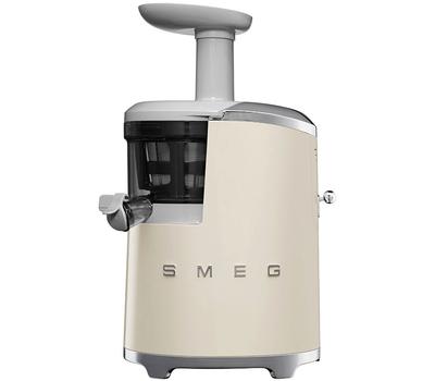 Шнековая соковыжималка Smeg SJF01, кремовая, фото 1