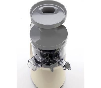Шнековая соковыжималка Smeg SJF01, кремовая, фото 8