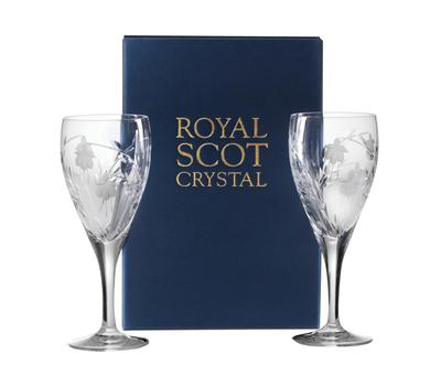Бокалы подарочные Catherine Royal Scot Crystal - 2шт, фото 3
